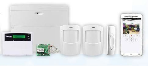 Texecom alarmsysteem kit